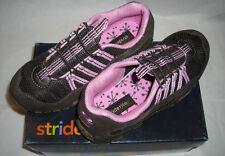 Stride Rite Girls Milena Brown/Begonia Leather Tennis Shoes 2.5 Medium YG21659