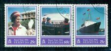BERMUDA 664-66 SG699-701 CTO 1994 Royal Visit set of 3 Cat$10