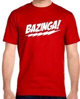 Bazinga!! T-Shirt, Sheldon Cooper,The Big Bang Theory -Youth - Adult Sizes