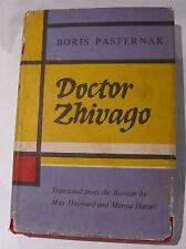 Love Historical Romance - Dr Zhivago by Boris Pasternak First Ed.  6th Imp.1958