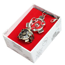 Vintage Anime Naruto Sharingan Ring & Pendant Necklace Pendant Cosplay 2pcs/Set