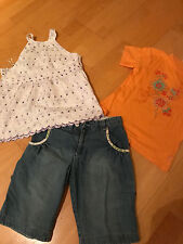 3 tlg. Marken Paket Shirt * T-Shirt *Sommer* Hose * CAKEWALK  * H&M * Gr. 140