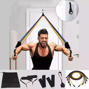 Resistance Bands Pull Rope Sport  Expander Yoga Exercise Rubber Tubes Home Gyms