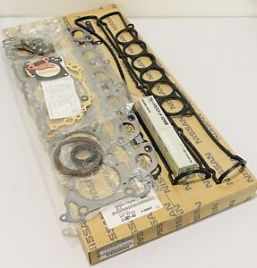 New Genuine For Nissan Skyline R33 RB25DET RB25DE Engine Gasket Kit 10101-17U29