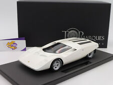 "TOP Marques TOP85B # Ferrari 512s Berlinetta Concept Bj. 1969 "" weißmet. "" 1:18"