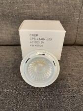 100 pk CREP MR16 LED Dimmable 4W 4000K Natural White Flood Spotlight light bulb