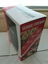 George Foreman Black 4-Portion Family Health Grill