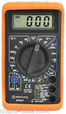 Digital Multitester Multimeter Test medidor de voltios AMP continuidad Tester mtb01