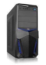 Caja ATX ordenador sobremesa PC torre Nox Pax Negra USB 3.0 ventilador 12cm