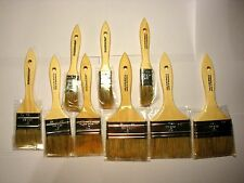 Mix Set Of 9 Chip Brush Brushes Perfect for Adhesives Paint Touchups