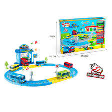 1 SET TAYO Mini Bus Electric Toy Station with Light and Music Anime Toy Car