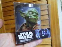 Mug tasse inox personnage Maitre YODA Jedi Star Wars serie TV BD
