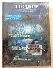 LIGABUE ARRIVEDERCI MOSTRO  EDIZIONE SPECIALE 2 CD + 1 DVD NUOVO