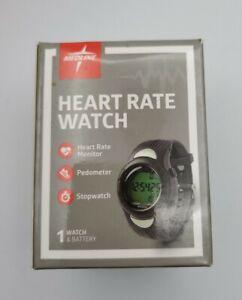 New Medline Heart Rate Monitor Watch Black Unisex