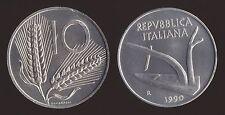 10 LIRE 1990 DELFINO E TIMONE - ITALIA FDC/UNC FIOR DI CONIO