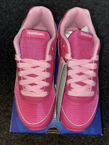 Reebok Girls Size 13 Pink Trainers