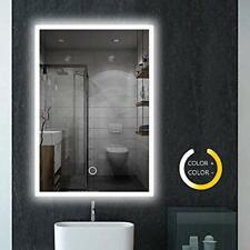 Bathroom Mirror With Lights, 800 x 600 mm Illuminated LED Vanity