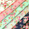 Cotton Fabric FQ Romantic Rose Floral Vintage Retro Printed Dress Quilting VK121