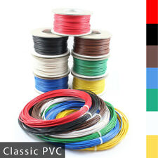 Automotive Classic PVC Thick Single Core Stranded Cable 12v 24v Wire 7 Colours