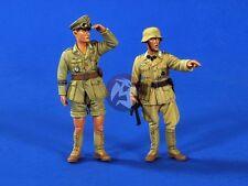 Verlinden 1/35 German DAK Afrika Korps Officers WWII (2 Figures) [Resin] 2615