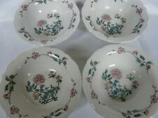 Set of 4 Syracuse China Restaurant Ware  Summerdale Pattern cereal soup bowls