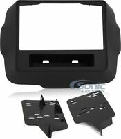 Metra 95-6532B Double DIN Dash Installation Kit for 2015 - Up Jeep Renegade