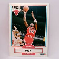 Fleer 90 NBA Basketball Card #24 Horace Grant - Chicago Bulls