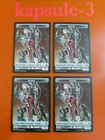 4x Golem | TOKEN 009/014 | Commander Legends | MTG Magic Cards
