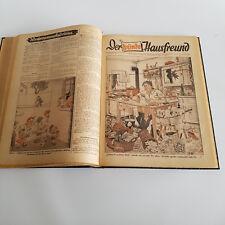 Der bunte Hausfreund 1950 Nr 9-52 gebundene Ausgabe Antik Buch März - Dez