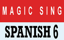 ENTERTECH MAGIC SING KARAOKE MIC Spanish 6 Latin Song Chip