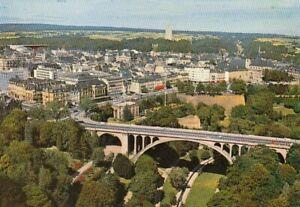 Luxembourg, vue aérienne du Pont Adolphe et du Bloulevard Roosevelt ngl G5412