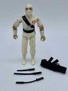 G.I. Joe Cobra Storm Shadow (V1) Hasbro 1984 Figure Tight Joints Near Complete