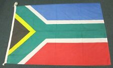 """Gorgeous Maritime Flag of South Africa   36""""  by  52""""   Linen like Cloth"""