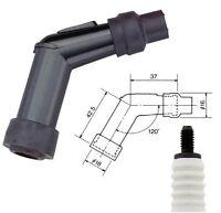NGK Spark Plug Cap VD05F Resistor Cover 120º (Black)  VD05-F  (8052)
