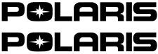 Polaris Decal, x2, Sticker, Vinyl Decal for Windows, Outdoors, Atv, Snowmobile !