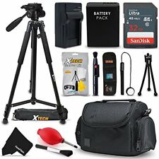 Professional Accessories Kit for Canon Rebel SL1, EOS M100, EOS-M, EOS M2, EOS M