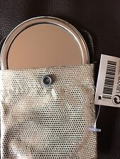 Schicker Taschenspiegel im stylischen Etui, NEU mit Etikett