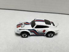 Hot Wheels P-911 Porche Turbo Hong Kong 1974 white 6 shell