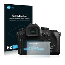 6x Savvies Screen Protector for Panasonic Lumix DMC-FZ2000 Ultra Clear