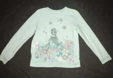 Disney Elsa Girls Sweatshirt Mint Green Size 10
