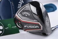 CALLAWAY BIG BERTHA FUSION DRIVER / 9° / X FLEX PROJECT X 6.5 SHAFT / CADBIG637