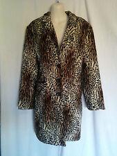 Faux Fur Animal Print Coats & Jackets for Women