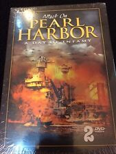 Attack On Pearl Harbor 2 DVD A Day Of Infamy Sealed Fast Free Shipping