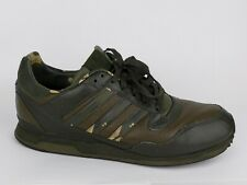 e8a6bc240f658 Adidas ZX ZL EA Army Green Camo Leather Sneakers Shoes Men Size 10.5