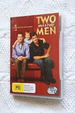 TWO AND HALF MEN -THE COMPLETE 1ST SEASON (DVD, 4-DISC) R-4, LIKE NEW, FREE POST