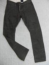 GRAB black Richmond low rise slim leg denim jeans size 33 NWOT