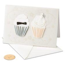 PAPYRUS GREETING CARD CONGRATULATIONS ON YOUR WEDDINGBride & Groom Wedding Cupca