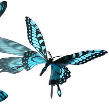 100 Pack Butterflies - Aqua- 5 to 6 cm - Topper, Weddings, Crafts, Cards,