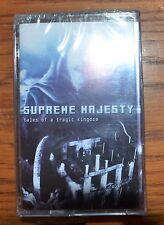 SUPREME MAJESTY - Tales Of A Tragic Kingdom - Music Cassette / MC / Tape