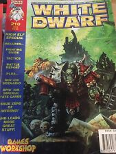RARE WHITE DWARF ISSUE 210 MAGAZINE JUNE SPACE MARINE PAINTGUIDE Games Workshop.